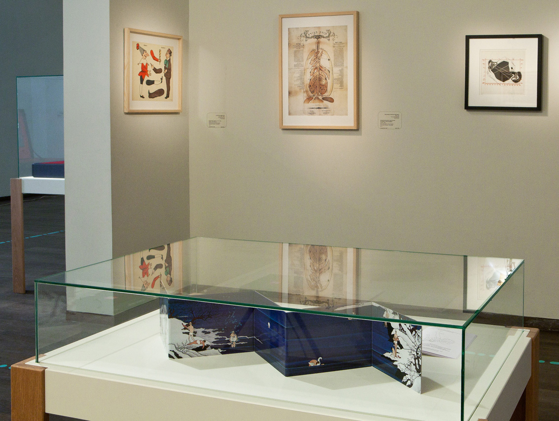 Artist's book | Installation view | LIFE: A User's Manual, The Israel Museum | 2012
