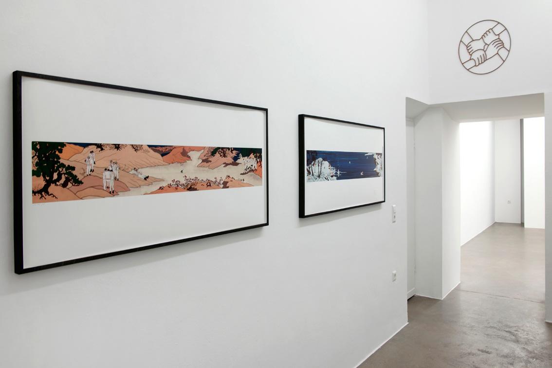 2 Prints on archival paper | 135 x 58 cm Installation view, Aando Fine Art | 2012