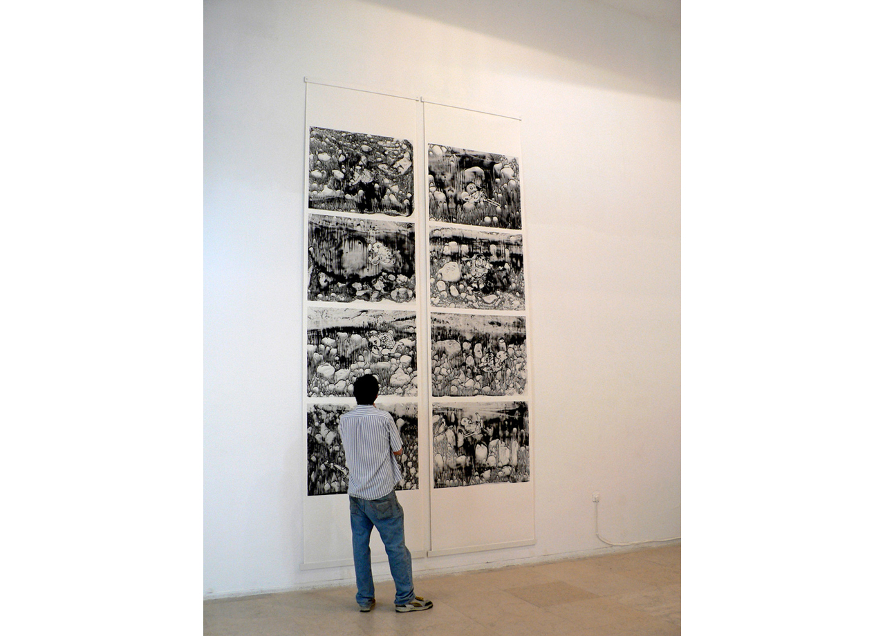 Print on archival paper | 110cm x 450cm | Installation view, The Center for Contemporary Art CCA, Tel Aviv | 2009