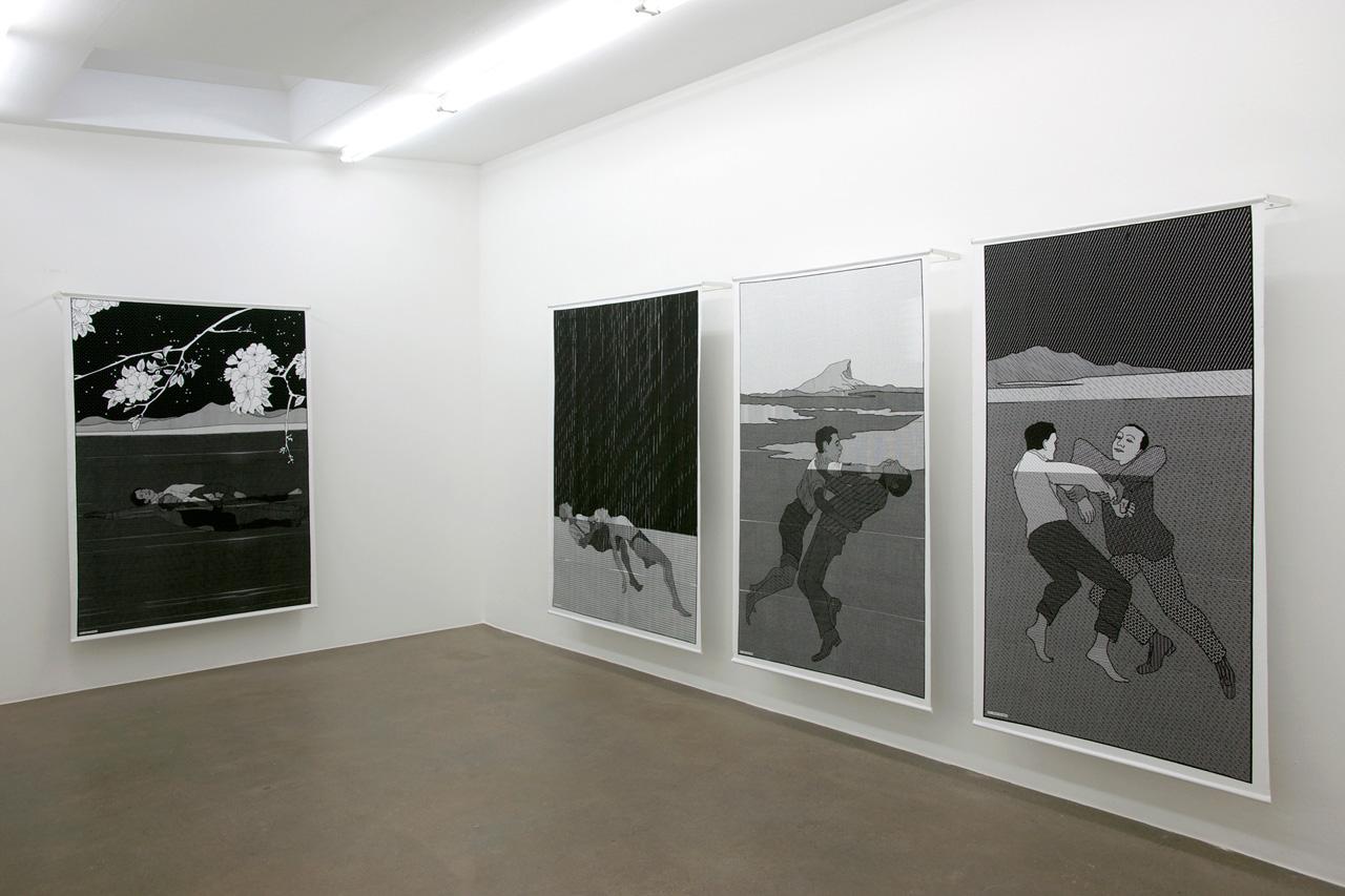 Installation view, AANDO Fine Art, Berlin   2012